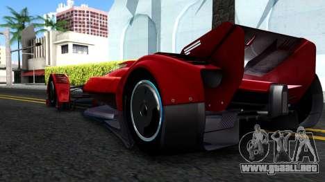 McLaren MP4 X 2016 para la visión correcta GTA San Andreas