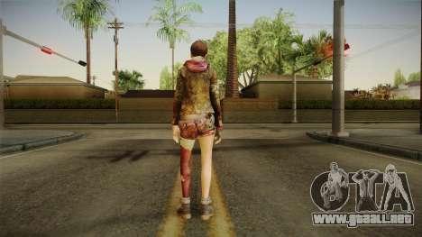 RE Revelations 2 - Moira Burton Survivor para GTA San Andreas tercera pantalla