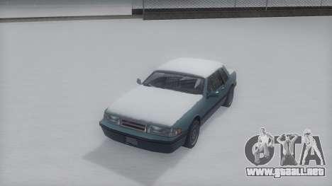 Bravura Winter IVF para GTA San Andreas