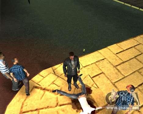 Para llevar el cadáver de 2016 para GTA San Andreas quinta pantalla