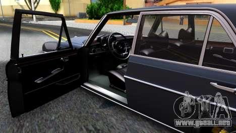 Mercedes-Benz 300SEL 6.3 para vista lateral GTA San Andreas