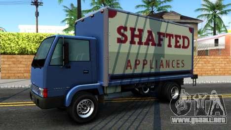 GTA IV Maibatsu Mule with GTA SA Ads para GTA San Andreas