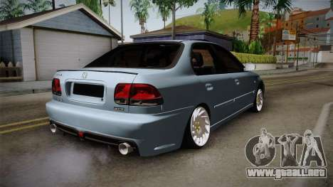 Honda Civic Turbo para GTA San Andreas left