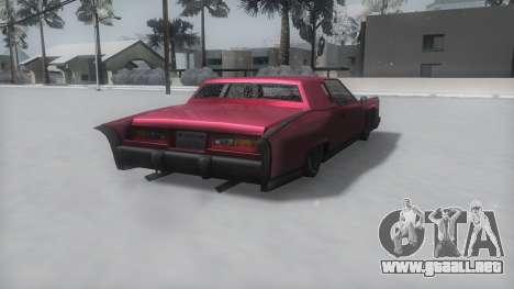 Remington Winter IVF para GTA San Andreas left