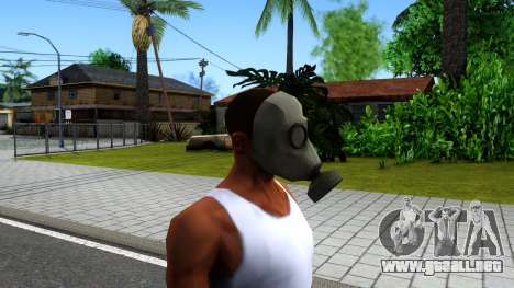 Gas Mask From Call of Duty Modern Warfare 2 para GTA San Andreas tercera pantalla