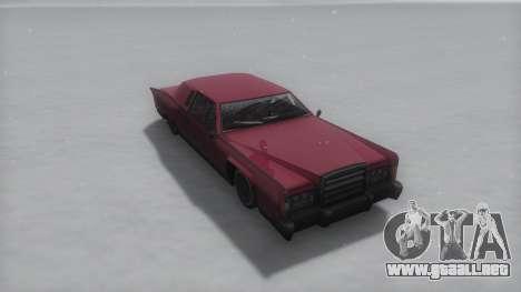 Remington Winter IVF para la visión correcta GTA San Andreas