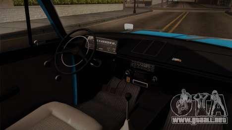 IZH 21251 para visión interna GTA San Andreas
