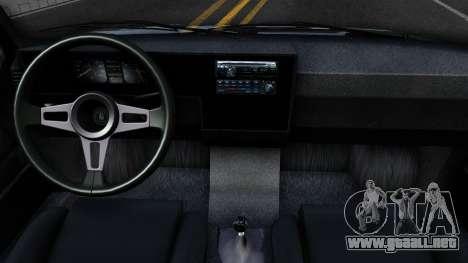 Volkswagen Caddy para visión interna GTA San Andreas