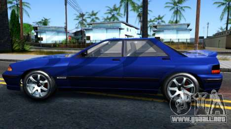 GTA V Zirconium Stratum Sedan para GTA San Andreas left