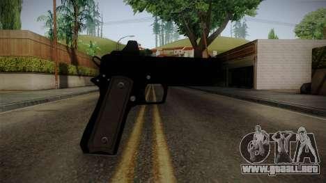 GTA 5 Heavy Pistol para GTA San Andreas tercera pantalla