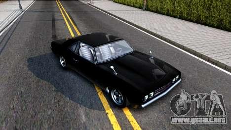 GTA V Declasse Vigero para la visión correcta GTA San Andreas