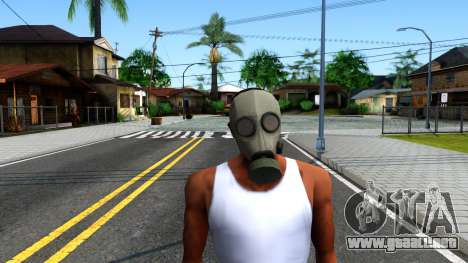 Gas Mask From Call of Duty Modern Warfare 2 para GTA San Andreas segunda pantalla