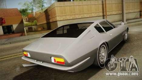 Maserati Ghibli v0.1 (Beta) para GTA San Andreas left