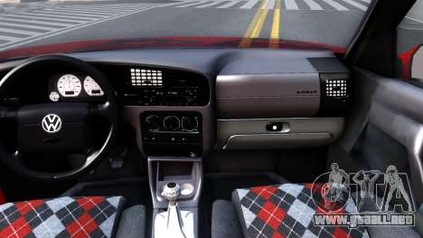 Volkswagen Golf Mk3 1997 para visión interna GTA San Andreas