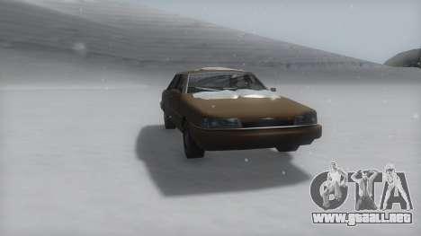 Primo Winter IVF para la visión correcta GTA San Andreas