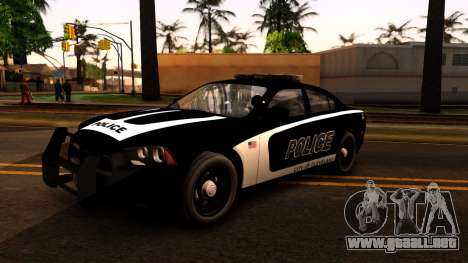 2014 Dodge Charger Cleveland TN Police para GTA San Andreas left