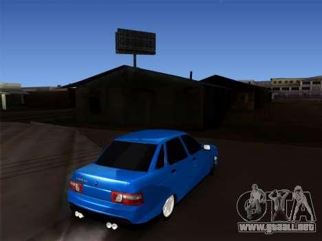 VAZ 2110 BPAN para la visión correcta GTA San Andreas