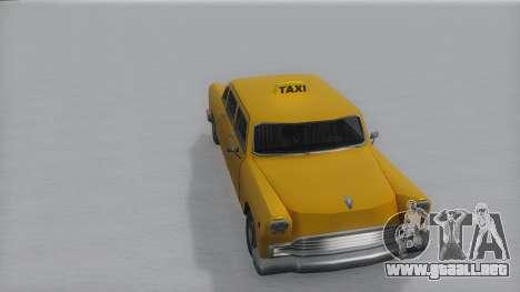 Cabbie Winter IVF para la visión correcta GTA San Andreas