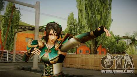 Dynasty Warriors 8 - Xing Cai para GTA San Andreas
