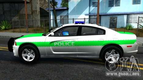 Dodge Charger German Police 2013 para GTA San Andreas left