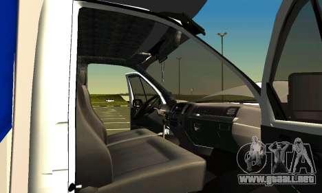 Gazelle 3302 para la vista superior GTA San Andreas