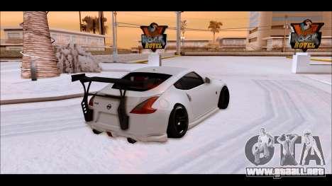 Nissan 370z Drift Edition para GTA San Andreas left