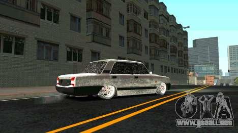 2107 Clásico de la 2 edición de Invierno para visión interna GTA San Andreas