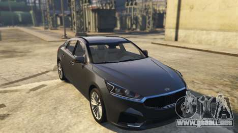 Kia Cadenza 2017 para GTA 5