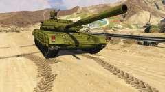 Tank T-72 para GTA 5