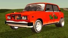 VAZ 2105 parche 4.0 para GTA San Andreas