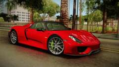 Porsche 918 Spyder 2013 Weissach Package SA