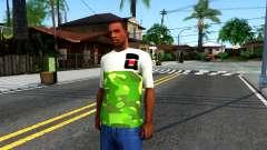 Design Camouflage T-Shirt para GTA San Andreas