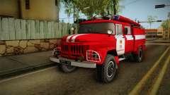 El Amur ZIL 131 Camión de Bomberos para GTA San Andreas