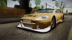 Aston Martin Racing DBRS9 GT3 2006 v1.0.6 YCH para GTA San Andreas