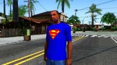 T-Shirt SuperMan para GTA San Andreas