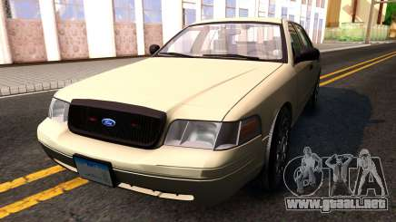 Ford Crown Victoria Unmarked 2009 para GTA San Andreas