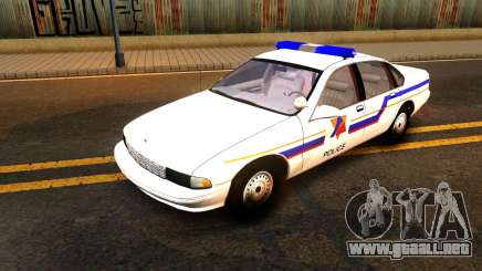 Chevy Caprice Hometown Police 1996 para GTA San Andreas