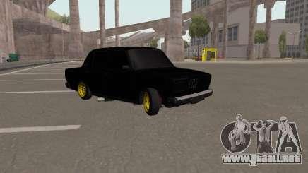 VAZ 2107 Black Jack para GTA San Andreas