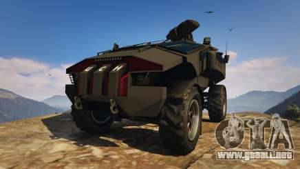 Punisher Black Armed Version para GTA 5