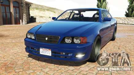 Toyota Chaser (JZX100) cambered v1.1 [add-on] para GTA 5