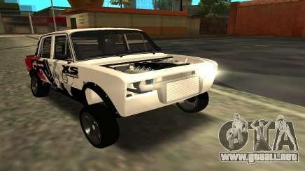 VAZ 2106 A LA DERIVA para GTA San Andreas