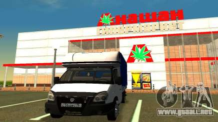 Gazelle 3302 para GTA San Andreas
