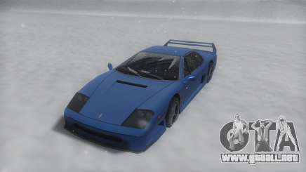 Turismo Winter IVF para GTA San Andreas