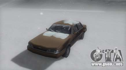Primo Winter IVF para GTA San Andreas