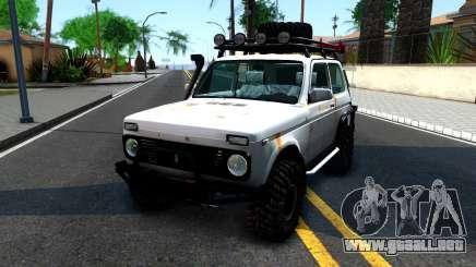 Lada Niva 4x4 Off Road para GTA San Andreas