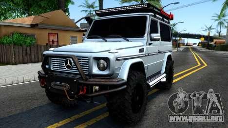 Mercedes-Benz G500 Off-Road Short para GTA San Andreas