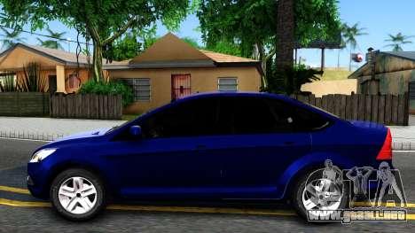 Ford Focus Sedan 2009 IVF para GTA San Andreas