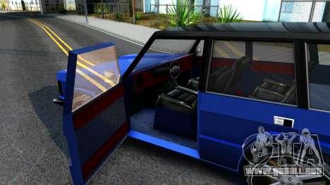 Huntley AcademeG para visión interna GTA San Andreas