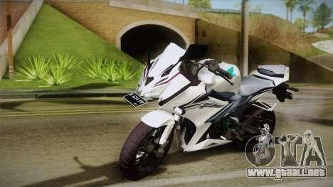 Honda CBR150R 2016 White Row para GTA San Andreas