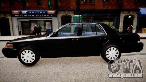 Ford Crown Victoria FBI para GTA 4